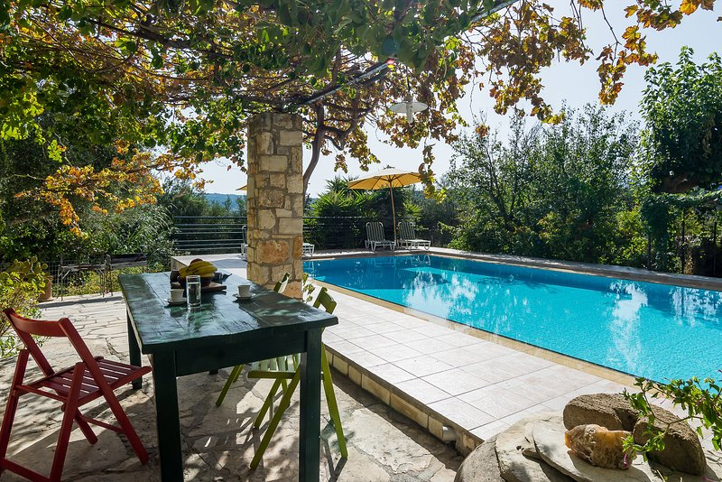 terrace pool to share