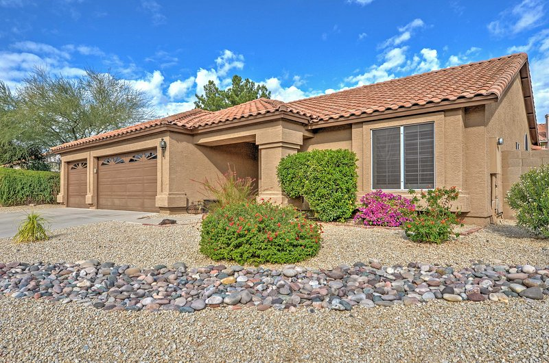This newly remodeled Scottsdale house is perfect for sightseeing in Arizona!