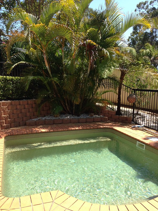 Couples private plunge pool