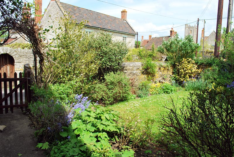 Cuervo Cottage jardín trasero