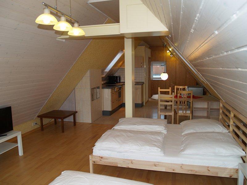 Berg Apartment nähe Messe/Flughafen Stuttgart, aluguéis de temporada em Leinfelden-Echterdingen