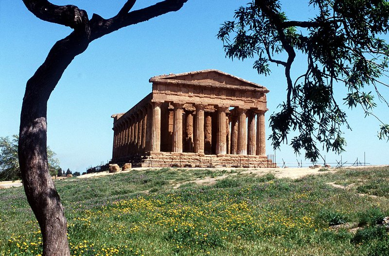 Valley of the Temples in Agrigento (about 50 minute drive).