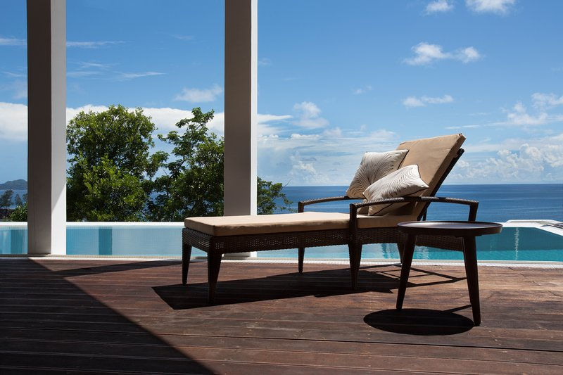 Vilas Palm Royal - Luxury villa King with privat pool, ocean view, full service, holiday rental in Mahe Island