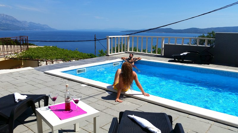 Holiday  home with privat pool in Mimice, holiday rental in Mimice