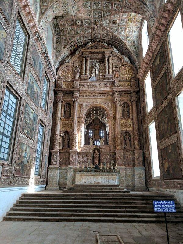 St Francis Xavier Church circa 1605