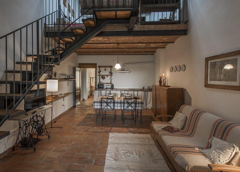 Casa Vacanze Le Fornaci - Appartamento Maghino, location de vacances à San Giustino Valdarno
