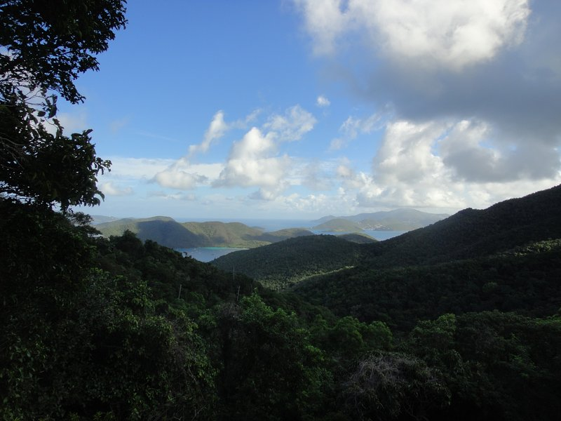 view toward BVI