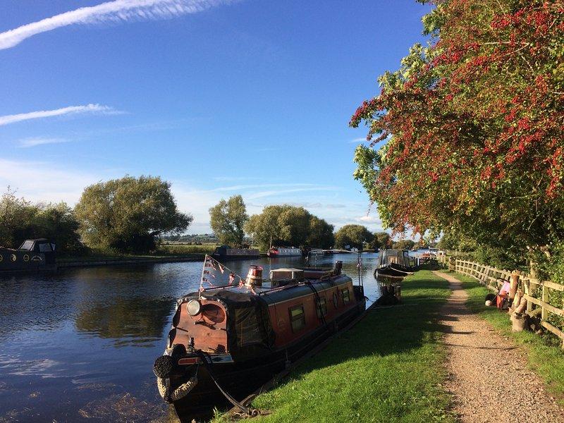 Gloucester till Skärpa kanalen är en kort promenad bort