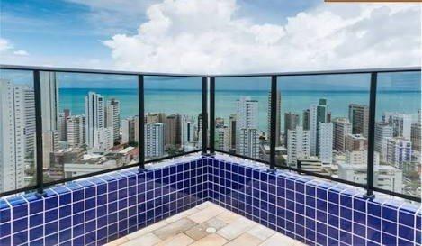 Flat Mobiliado p/ Temporada na Praia de Boa Viagem, Ferienwohnung in Recife