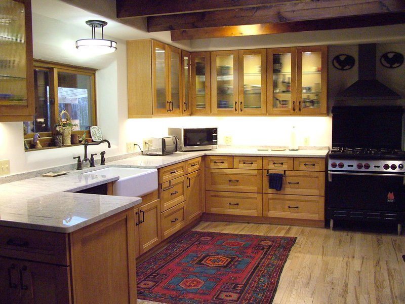 Newly remodeled kitchen! Even lighted cabinet interiors!