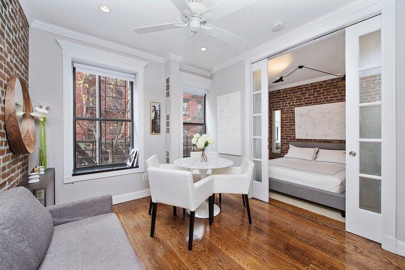 Appartement confortable de 2 chambres.