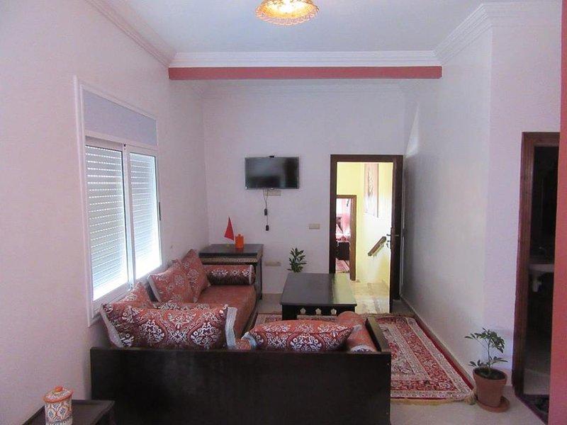 mooi ingericht appartement in Tamraght. Niet ver van de zee en de golfbaan