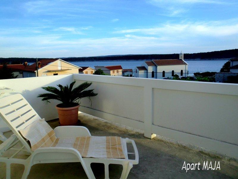 Villa Lavanda, Apart MAJA 6-8p, casa vacanza a Rab Island