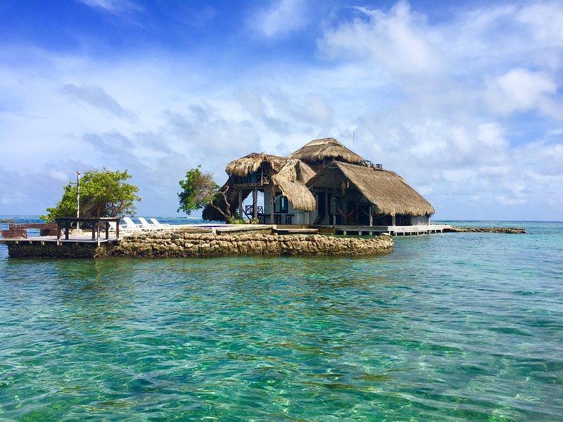 Isla Kalua en Islas del Rosario, casa vacanza a Isla Grande