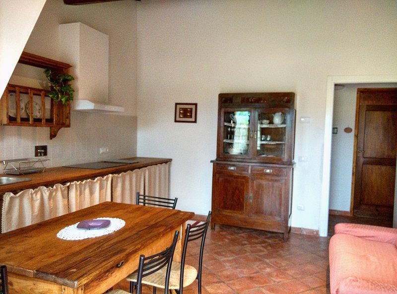 Casa Vacanze Le Fornaci - Appartamento Mattacchione, vacation rental in Pieve A Maiano