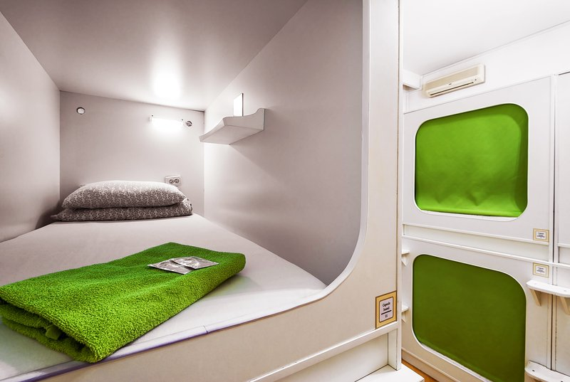 Capsule hostel Moscow, alquiler de vacaciones en Moscú