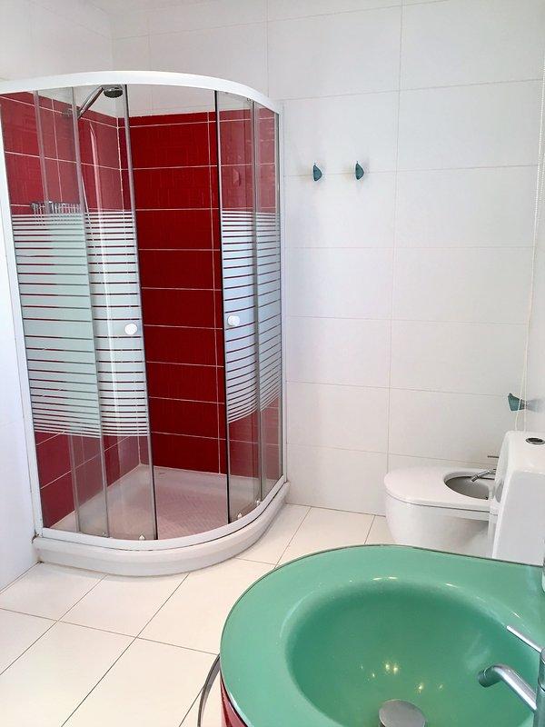 salle de bains de la chambre principale en suite.