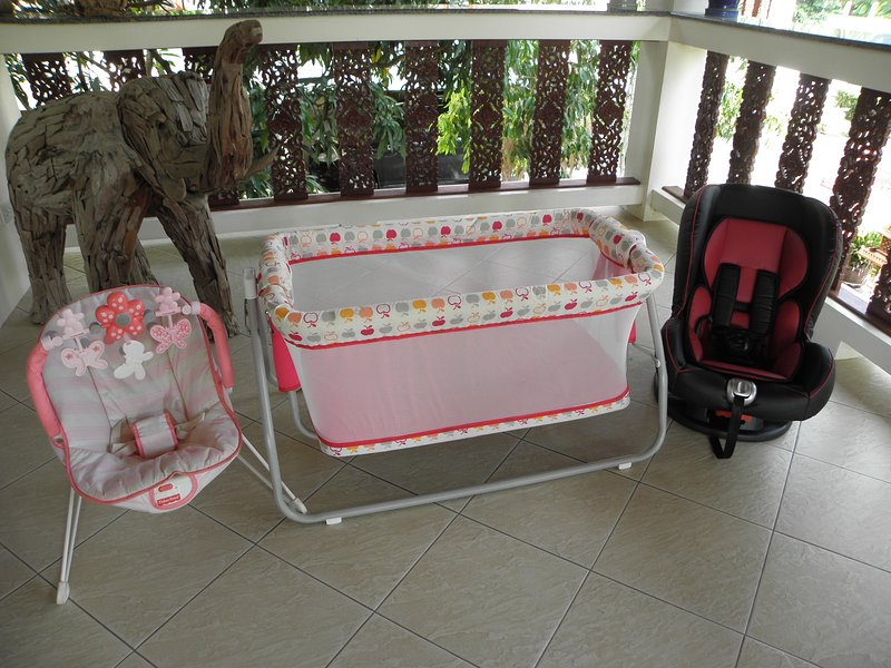 Baby Equipment Included With The Villa