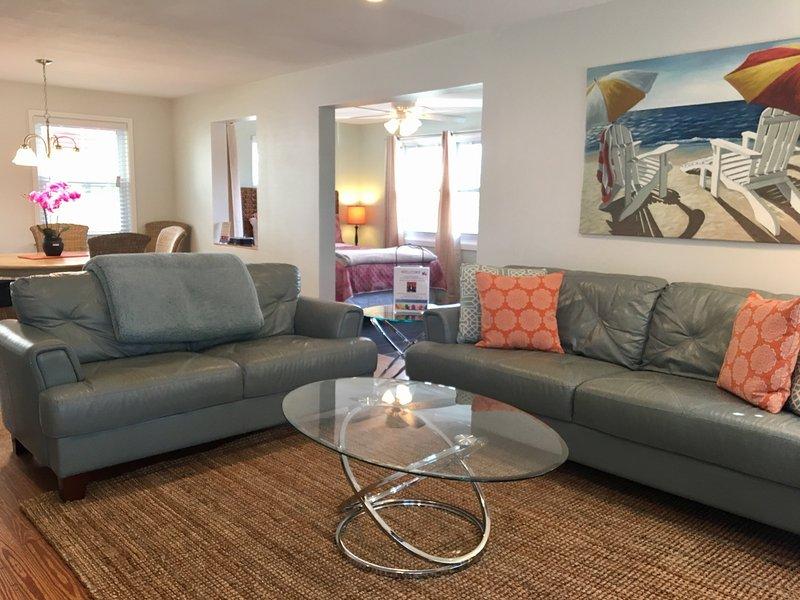 Key West Suite, upstairs, fantastic open floor plan