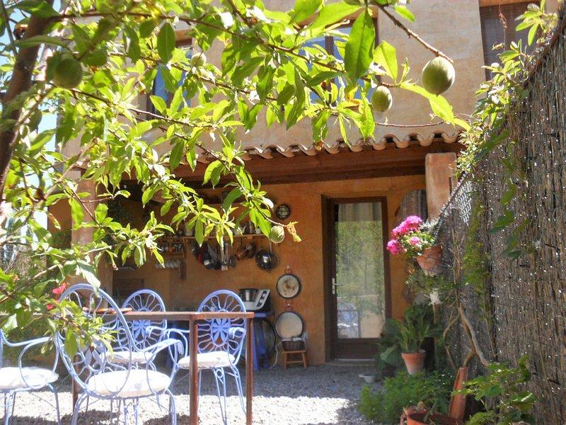 Casa Lluisa garden / bbq