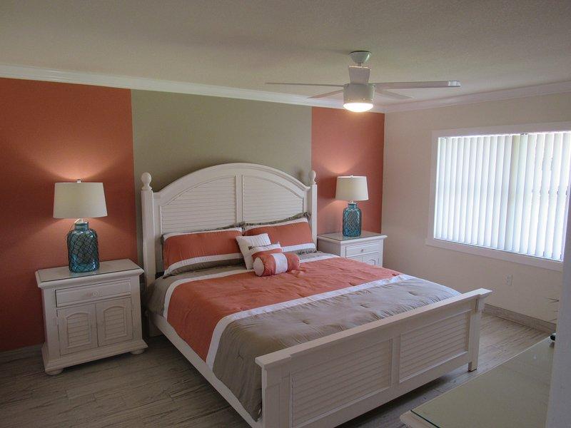 Mestre quarto com cama king size