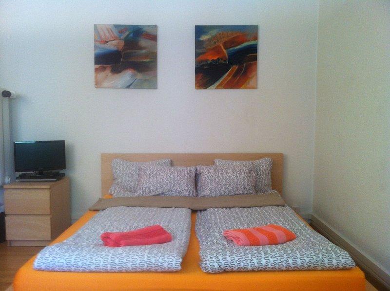 Toblerplatz Garden Studio apartment 1, holiday rental in Zurich