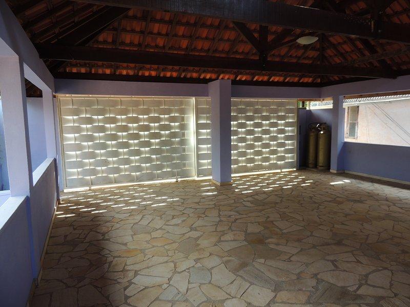 garage with iliminação led with time sensor ...