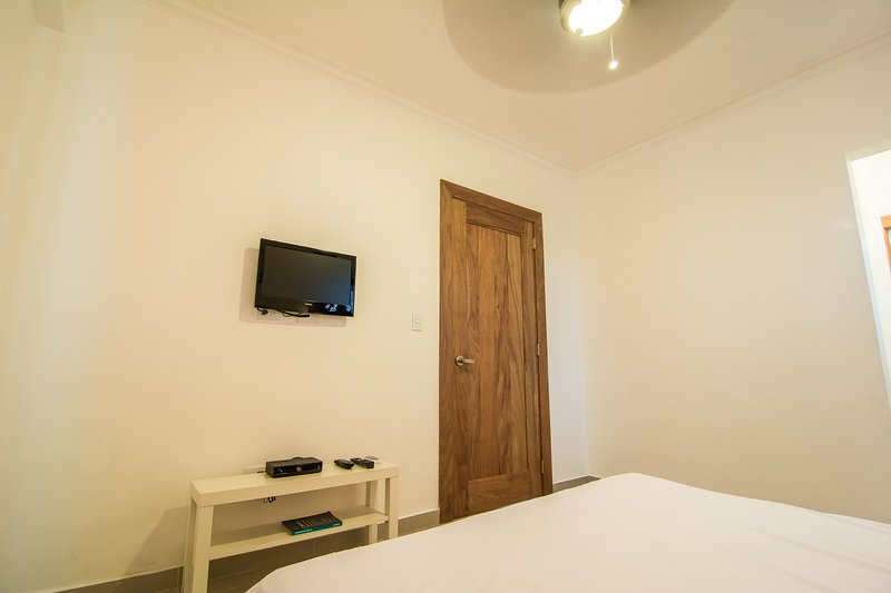 The Bedroom comes with a Queen Size Bed, Walk-in Closet and Ensuite Bathroom