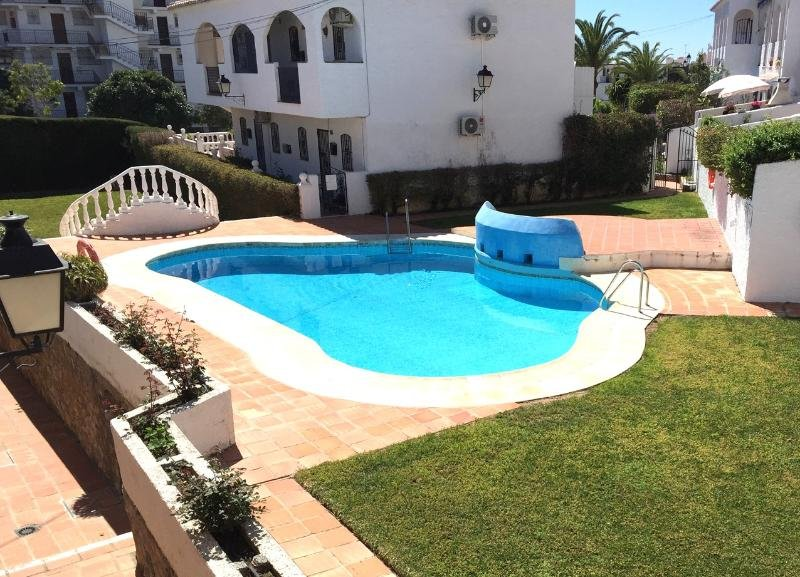 The Small Pool with a grassed area ideal for lounging