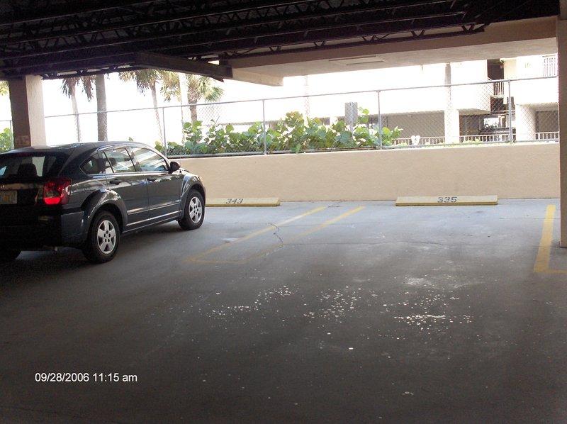 Garagem privativa Espaço de estacionamento
