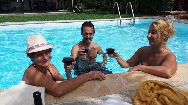aperitief zwembad