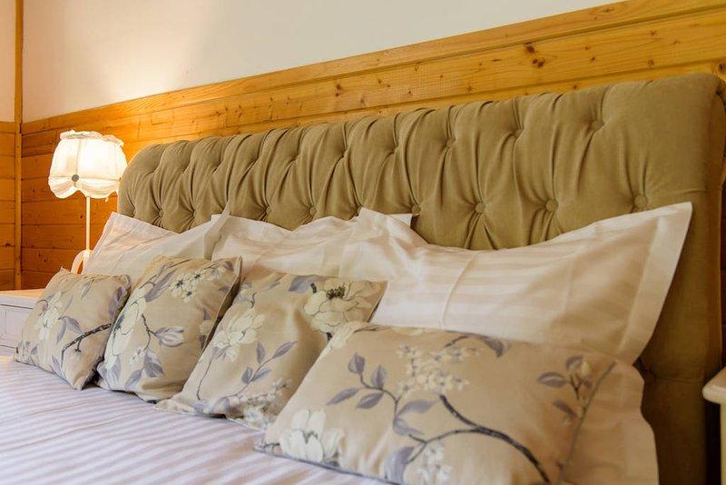 Detalle del dormitorio.