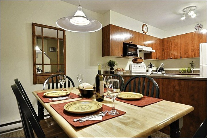 The Dining and Kitchen Area are Open and both Fully Equipped