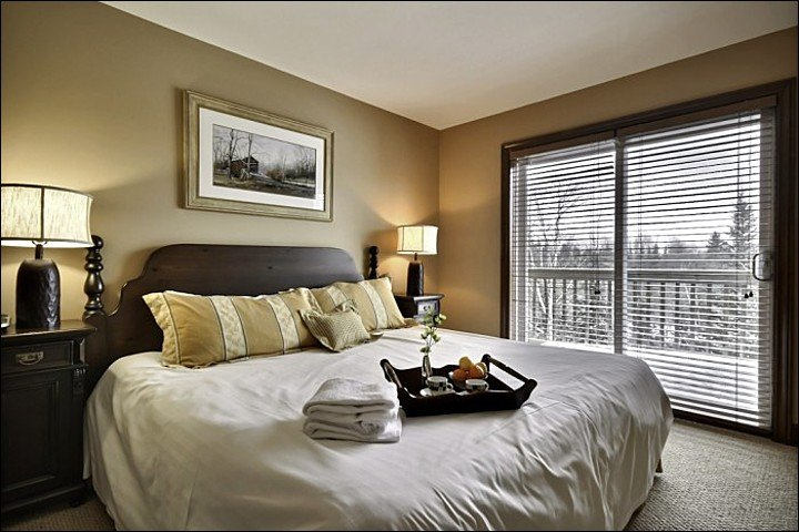 One King Bed is Offered in the Master En Suite
