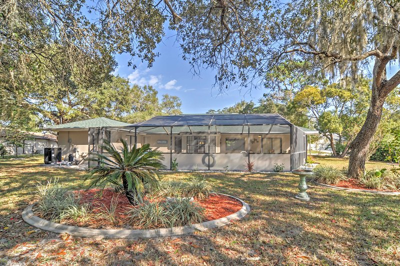 Your Florida escape begins at this Spring Hill vacation rental house which sleeps 6!
