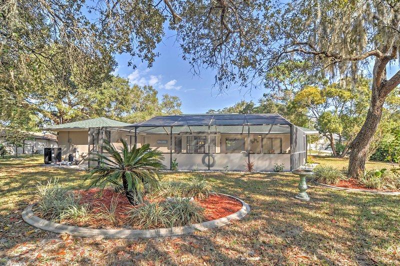 Su escape de la Florida comienza en esta casa de vacaciones de Spring Hill con capacidad para 6!