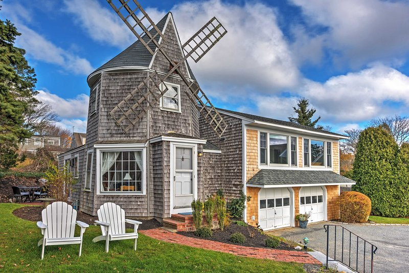 Have the ultimate nautical escape at this Chatham vacation rental Windmill cottage.