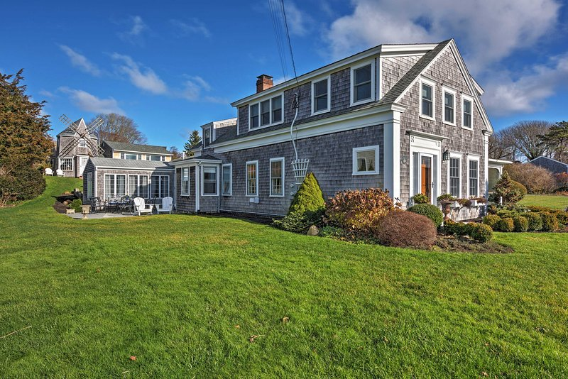 Escape to this 1801 Sea Captain's House with 5-bedrooms, 4.5-bathrooms in Chatham for the ultimate Cape Cod getaway!