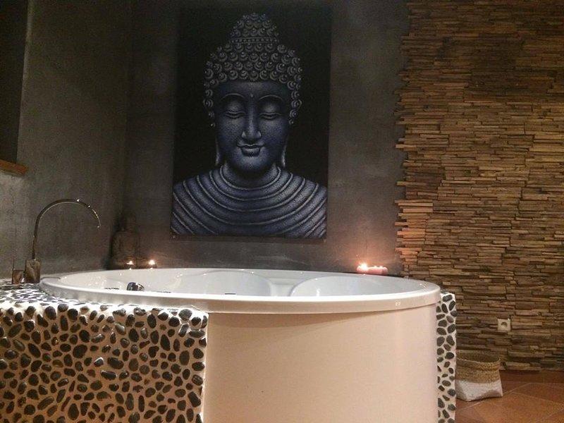 Spa à l'Orée du Bois - chambre privée/Spa, vacation rental in Ohey