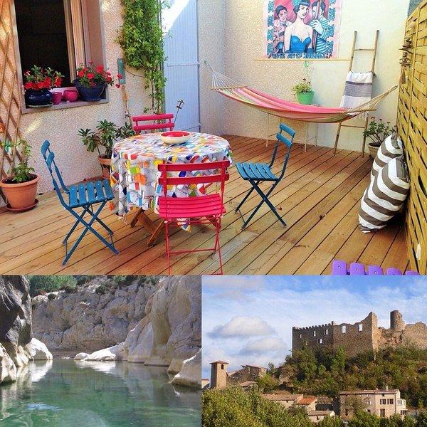 Vacances Durban Corbières Carcassonne Narbonne Sigean, Ferienwohnung in Villeneuve-les-Corbieres