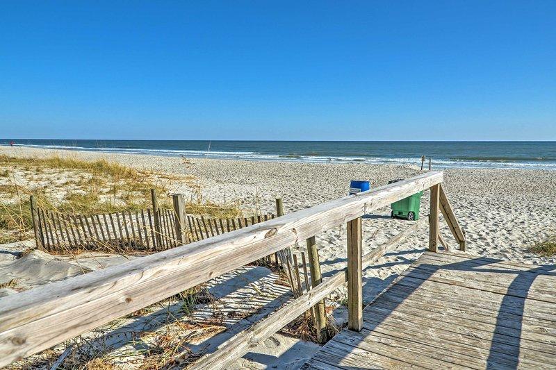 Du kommer aldrig att vilja lämna denna strandparadis!