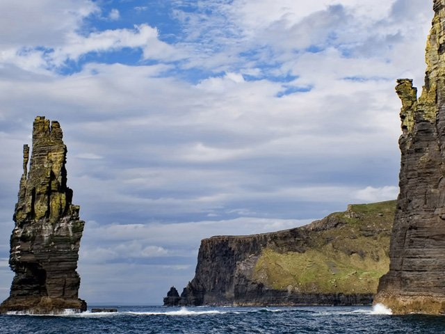 Cliffs of Moher from the sea