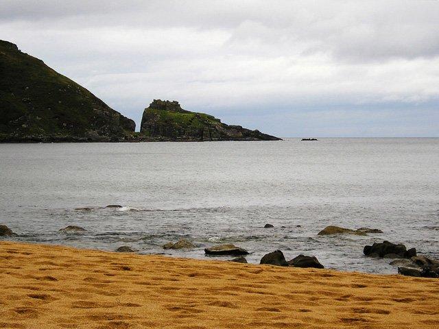 Kinnagoe Beach