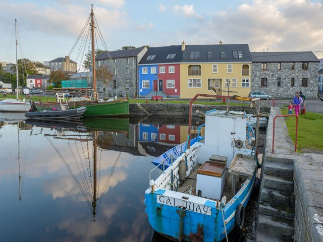 Kinvara harbour, 7 kms/15 mins from the property