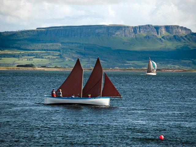 Sailing on Lough Foyle