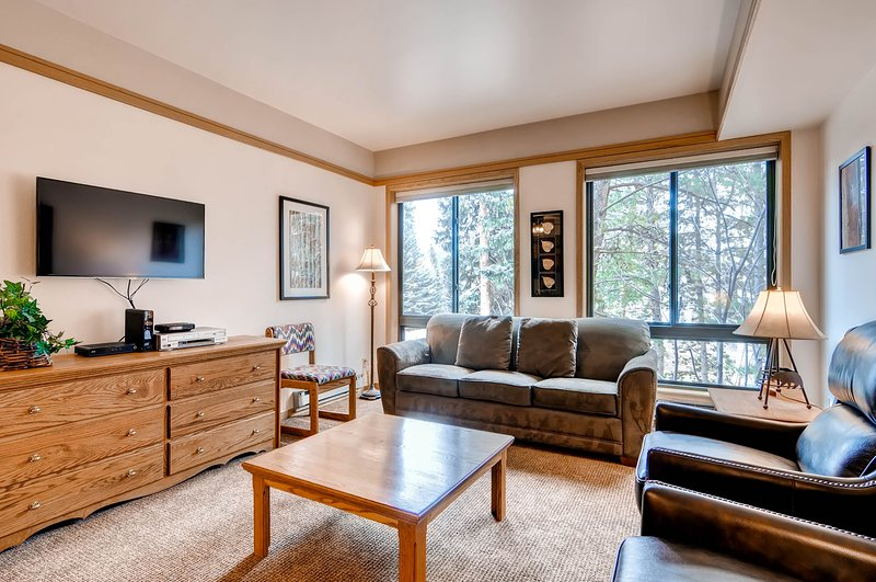 Walk to slopes! Value Studio Condo~Kids Ski Free, location de vacances à Keystone
