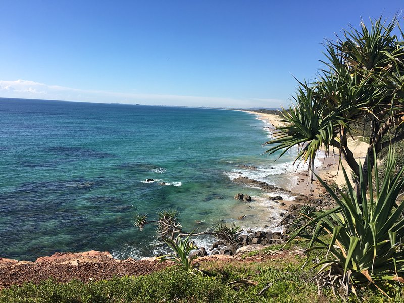 Enjoy the wide expanses of Yaroomba Beach