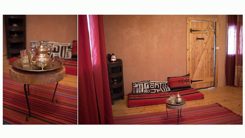 Tobiana guest houses in Ezuz, vacation rental in Midreshet Ben-Gurion