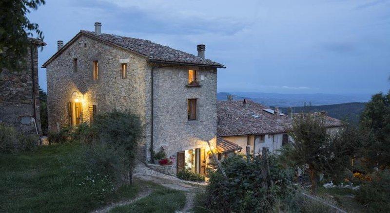 Agriturismo La Colombella Terme Bagni San Filippo, alquiler de vacaciones en Abbadia San Salvatore