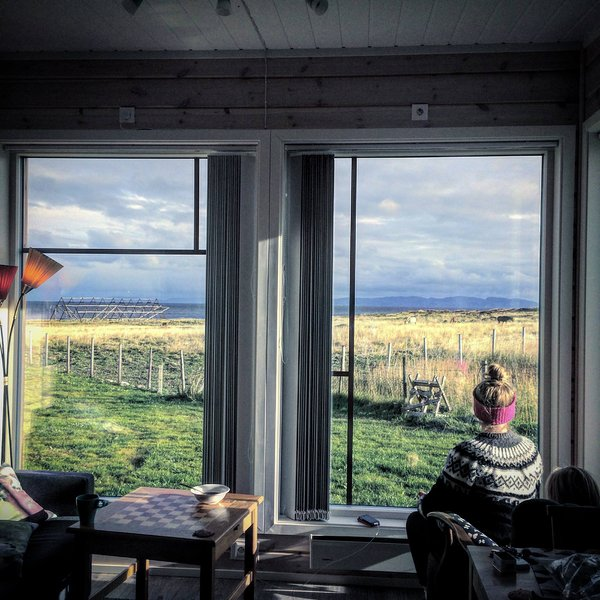 An amazing view to nature, birds and sea in Northern Norway; Ekkerøy in Varanger.